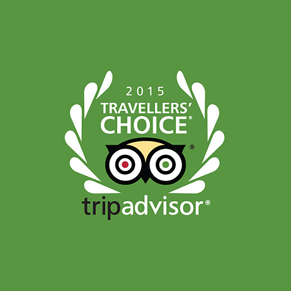 2015 Travelers Choice, TripAdvisor