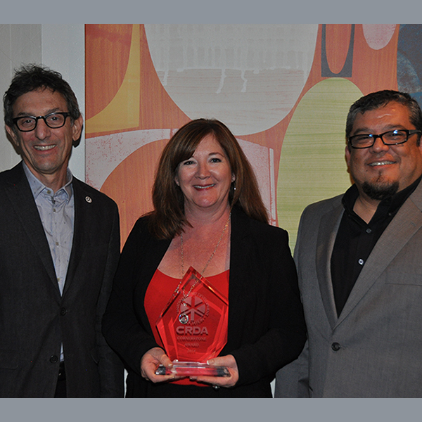 CRDA Cornerstone Award 2014