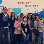 DAE China Attends World Travel Fair 2014