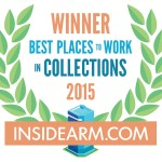 "Pinnacle Recovery, Inc. Named Winner Of 2015 ""Best Places To Work In Collections"" Award"