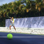 Tennis superstar Rafael Nadal recently returned to Secrets® Aura Cozumel for his annual Mexico escape.