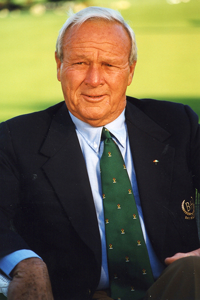 The Grand Tour Foundation recognizes Arnold Palmer as a 2016 Dick Pope Legend Honoree