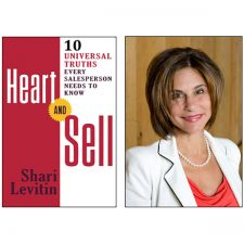 Shari Levitin's First Book– Heart and Sell—Hits Amazon's Bestseller List
