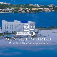 Sunset World Resorts Celebrates Its 25th Anniversary