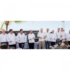 AMResorts Celebrates Secrets Cap Cana Resort & Spa  Grand Opening with the Dominican Republic President