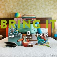 "Three Hilton Brands Declare ""Suites for All"" with First Joint Campaign, ""BRING IT"""