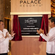 The Grand at Moon Palace Cancun Unveiled During Inaugural Ceremony with Mexican President, Enrique Pena Nieto