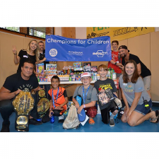 Global Force Wrestling and Wyndham Volunteers Bring Annual Charity Event to Camp Boggy Creek