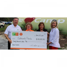 Holiday Inn Club Vacations Brand Provides $20,000 to Easterseals Floria for its Camp Challenge