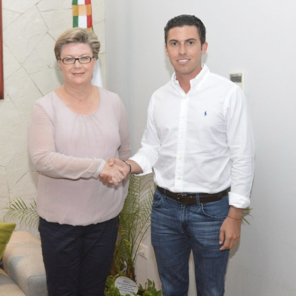 INTUITION Congratulates Jane A. Garcia, Director of Tourism, Cancun Quintana Roo