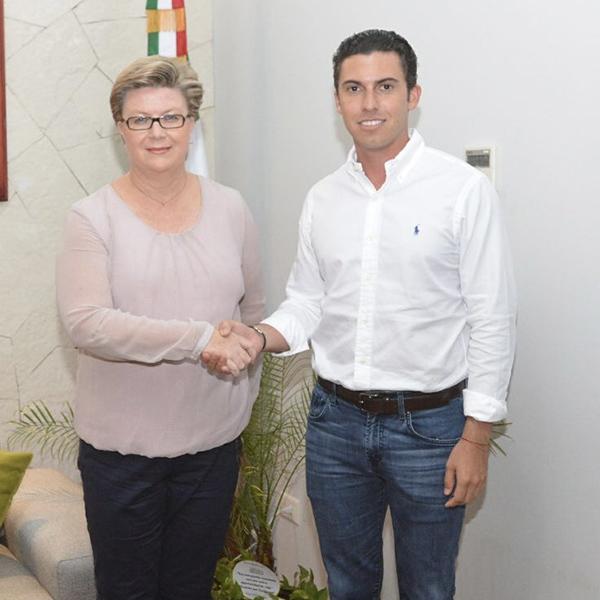 INTUITION Congratulates Jane A. Garcia, Director of Tourism, Cancun Quintana Roo