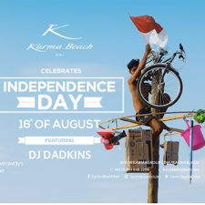 Independence Day at Karma Beach