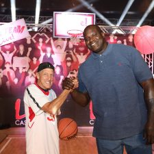 NBA Hall of Famer Shaquille O'Neal Takes on 77-Year-Old Casino Owner David Cordish in Epic Free-Throw Competition at Live! Casino & Hotel