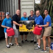 "Marriott Vacations Worldwide Corporation ""Fills the Containers"" with Relief Supply Donations for Fellow Associates in St. Thomas"