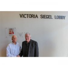 David Siegel and Harris Rosen Dedicate Rosen JCC Lobby in Honor of Victoria Siegel