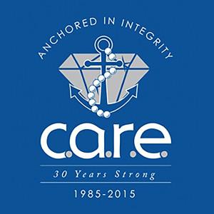 C.A.R.E. 20 Years Logo