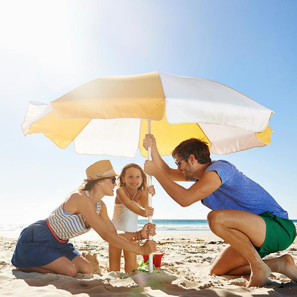 Family Beach Vacation, Freedom Resort Club