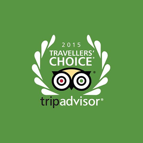 2015 Travelers Choice, TripAdvisor