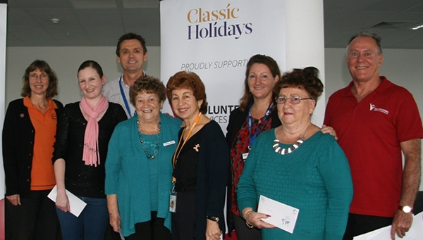 'Classic Heroes' Awarded for Volunteering Efforts