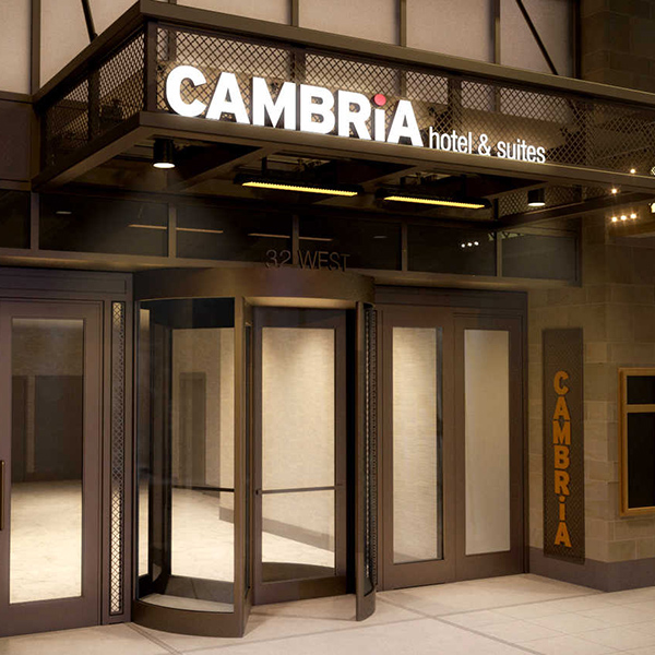 cambria hotels opens its second chicago property in the. Black Bedroom Furniture Sets. Home Design Ideas